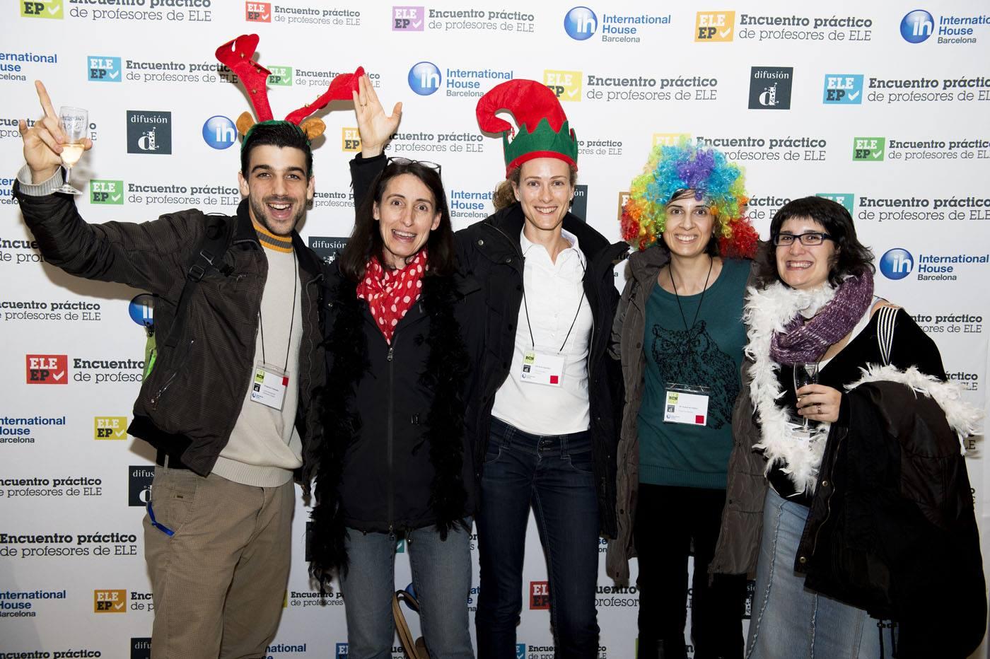 Foto del Encuentro Práctico ELE Barcelona de diciembre de 2015